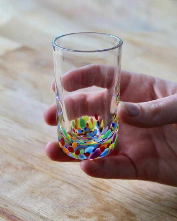 Moore's WildFlower branded Shot Glass - Waterford Crystal